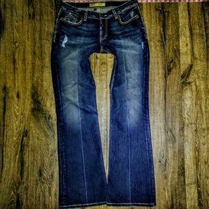 BKE Jeans Size 29X31.5 Distress Drew Boot ✂